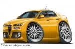 alfa romeo 159 yellow