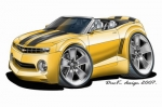 camaro yellow
