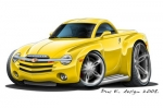 CHEVY SSR hard top 1