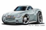 CHEVY SSR hard top 2