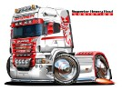 SCANIA-red