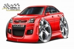 OPEL_VECTRA_cartoon_car_1