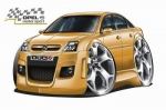 OPEL_VECTRA_cartoon_car_3