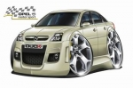 OPEL_VECTRA_cartoon_car_4