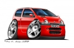 twingo red