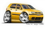 golf4 yellow