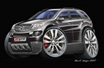 MERCEDES-ML-cartoon-car