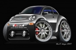VW-BEETLE-cartoon-car