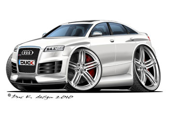 AUDI RS6 cartoon car