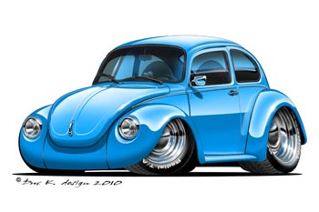 VW BEETLE CARTOON CAR