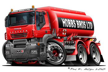 IVECO cartoon truck