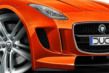 JAGUAR F type cartoon car