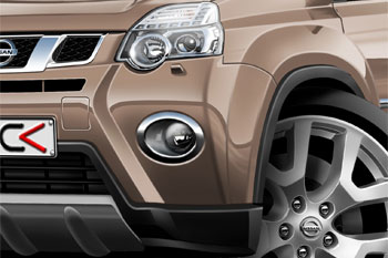 NISSAN X Trail cartoon car