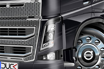 Volvo FH16 750 cartoon truck