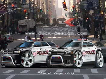 police cars wallpaper