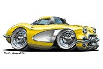 1958-yellow-corvette