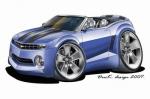 camaro blue