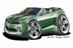 camaro green