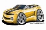 camaro yellow