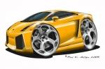 lambo yellow