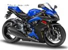 suzuki gsxr600-blue
