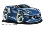 carrera GT blue