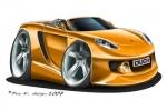 carrera GT orange