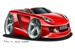 carrera GT red