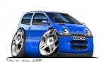 twingo blue