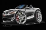 BMW-Z4-cartoon-car