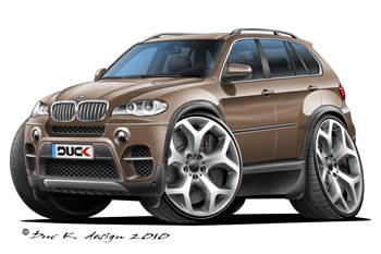 BMW X5 cartoon car
